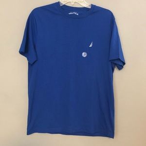 Nautica Classic Fit T-Shirt Size Small Blue New